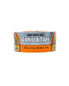 Gorilla Silver Duct Tape 12Yard