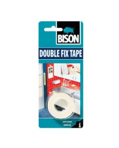 Bison Kit Double Fix Tape 1.5metre X 19mm