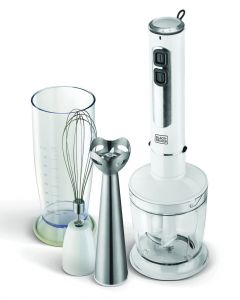 Black & Decker 400 W 4 In 1 Stick Blender With Chopper And Whisker