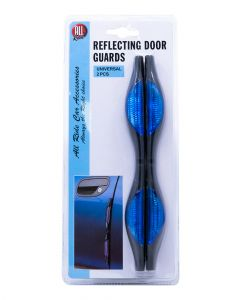 All Ride Blue Reflecting Door Guards