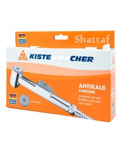 Kistenmacher Shattaf Classic Chrome with 100cm Hose