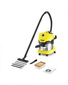 Karcher 1400W Wet and Dry Vacuum Cleaner With Stainless Steel