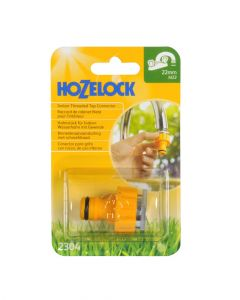 Hozelock Threaded Tap Connector 22mm