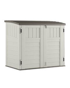 Suncast 34 Cuft Horizontal Storage Shed