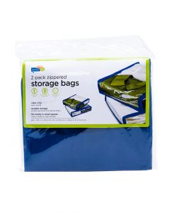 Honey Can Do Storage Bag Navy Pack of 2