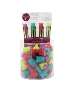 Core Silicone Bottle Stopper Bucket Assorted 1 Piece