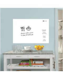 Brewster White Message Board Decal