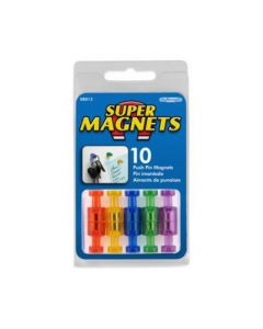 Magnets 10 Count Push Pin Magnets