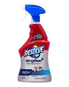 Resolve Pet Spot and Stain Carpet cleaner 22Oz
