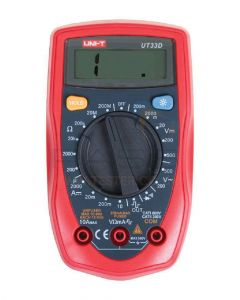 Uni-T Palm Size Digital Multimeter Resistance 200m And Square Wave