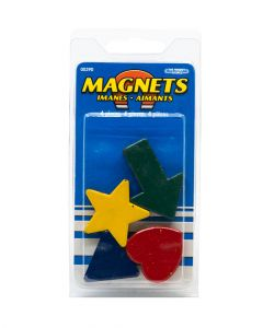 Colorful Magnetic Shapes 4 Pieces