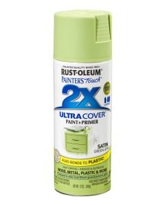Rust-Oleum Painter's Touch 2X Ultra Cover Satin Green Apple 12Oz
