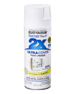 Rust Oleum Painters Touch 2X Satin Blossom White