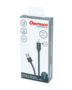 Oshtraco USB To iOS Charging Cable 1.5 Meter