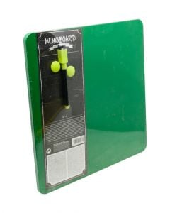 Homesmiths Magnetic Dry Erase Board Green