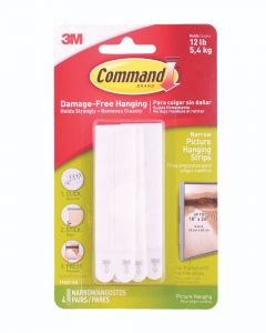 Command Large White Picture Hanging Strip