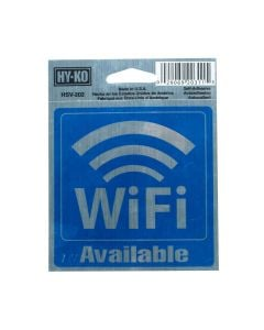 HY-KO Informational Signs Wifi
