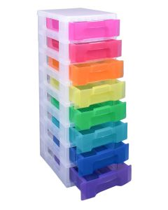 Really Useful Drawer Frame Assorted Rainbow Drawers