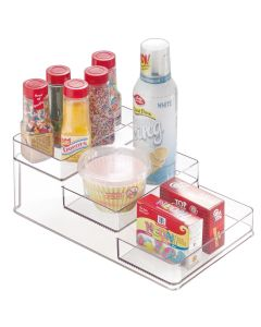 Interdesign Linus Stadium Spice Rack Shelves 10.2 x 6 x 4 inch