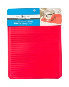 Interdesign Liner Drying Mat Large Red