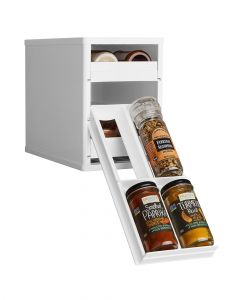 Youcopia Mini Spice Rack Stack 12 Bottle Organizer