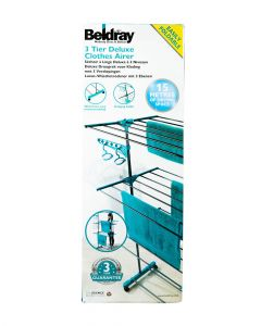 Beldray 3 Tier Deluxe Clothes Airer