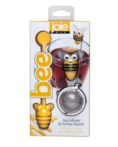 Joie Bee Tea Infuser & Honey Dipper