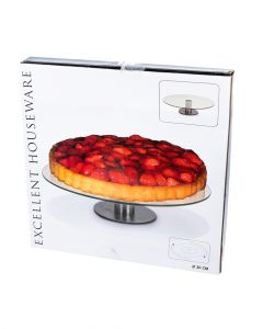 Homesmiths Rotating Cake Stand 30x7cm