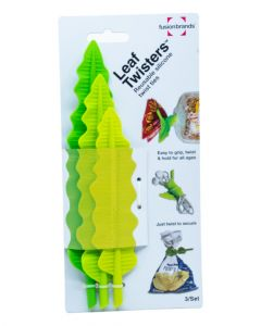 Fusionbrands Leaf Twisters Silicone Ties 3 Pcs pack