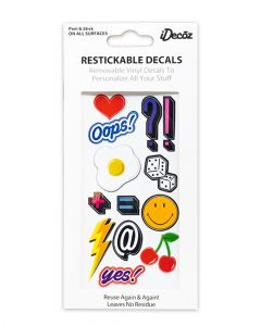 Idecoz Sticker Tags Oops Pack