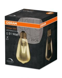 Osram 6.5 Watts Filament Led Clear Dimmer