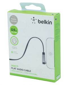 Belkin AUX Auxiliary Cable 3.5 mm Universal Black Length 0.9m