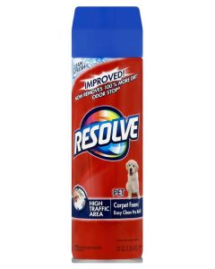 Resolve Pet Foam Cleaner 22 Ounce