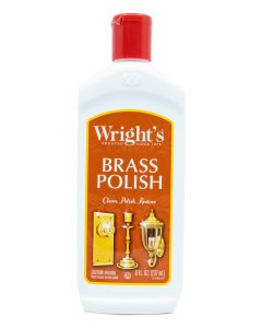 Wrights 8 Ounce Brass Cleaner