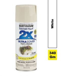 Rust Oleum Painters Touch 2X Gloss Navajo White 12Oz