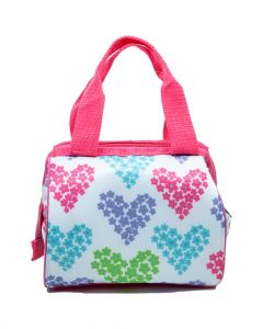Fit and Fresh Riley Bag Set White Heart Flowers