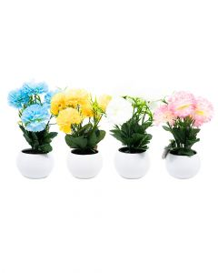 Homesmiths Plant In Pot 14 x 20cm 4 Assorted 1 Piece