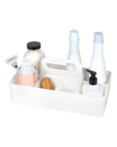 RichardsClearly Chic white 8 Compartment Caddy