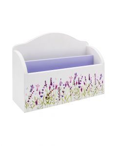 The Leonardo Collectionlavender Letter Rack