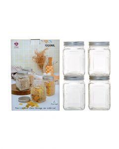 Orchid 4 piece Canister Set Ycs204