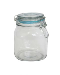 Orchid Square Glass Canister 1L