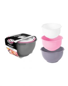 Rsw Mixing Bowls Pack of 3 Multicolor