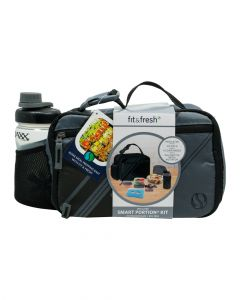 Fit & Fresh Gio Lunch Kit Includes Sandwich Container With Ice