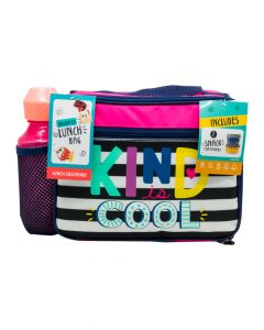 Fit & Fresh Jasmine Bag Kit Includes 2 Snack Containers & Matching Mod