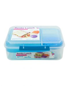 Sistema Bento Lunch To Go Online Range 1.65L Blue