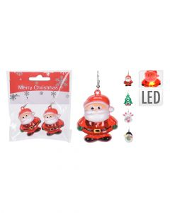 Homesmiths Earring With Led 2 Piece Set 4 Assorted Colors & Design 1 Piece