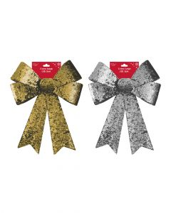 Eurowrap Lge Reversible 2 Assorted Colors 1 Piece Bow X-26136-B