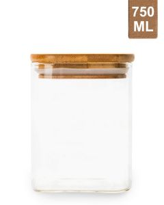 Little Storage Co 750ML Square Jar