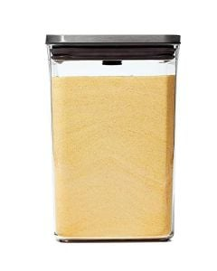 OXO 1 Liter Steel Small Square Pop Container