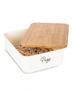 Little Storage Storage Container Mini with Bamboo Lid